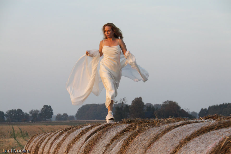 running on hay