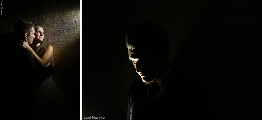 dramatic video light portraits
